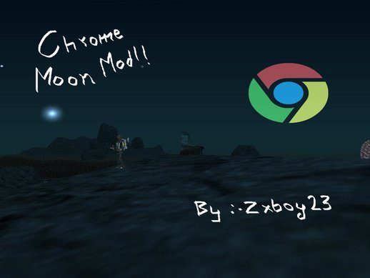 Google Chrome Moon Mod