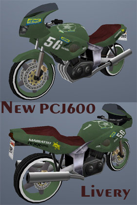 New Pcj600 Livery
