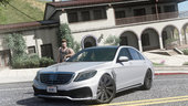 Mercedes S-Class W222 WALD Black Bison [Add-On / Replace]