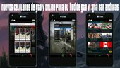 GTA V cell phones online for GTA V Hud