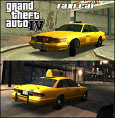 GTA IV Taxi Car