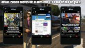 Actualizacion TXD and DFF New Cellphone Themes from GTA V Online