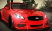 Infiniti G37 Coupe Liberty Walk LB Performance
