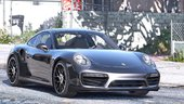 2016 Porsche 911 Turbo S [Add-On / Replace | Auto Spoiler | Animated | Template] v1.2