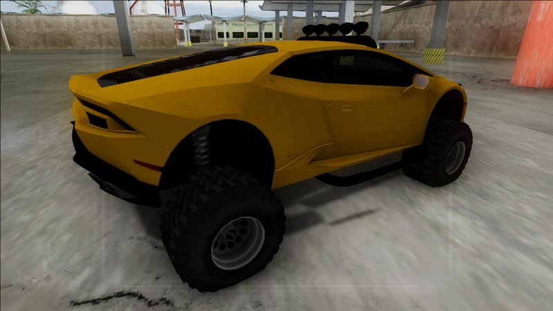 gta san andreas 2014 lamborghini huracan off road mod. Black Bedroom Furniture Sets. Home Design Ideas