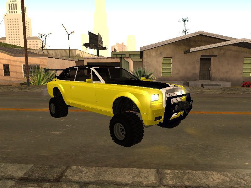 GTA San Andreas GTA V Enus Super Drop Diamond Offroad Mod ...