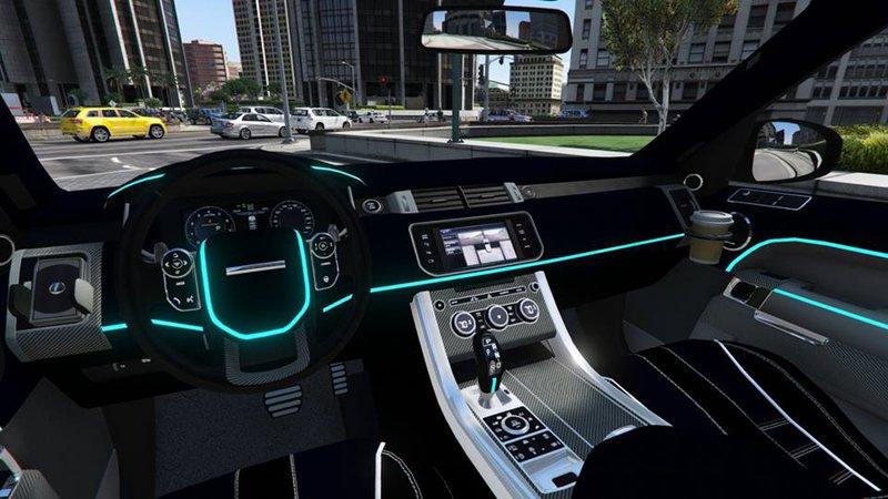 Range rover sport rear interior lights for Range rover sport interior lighting