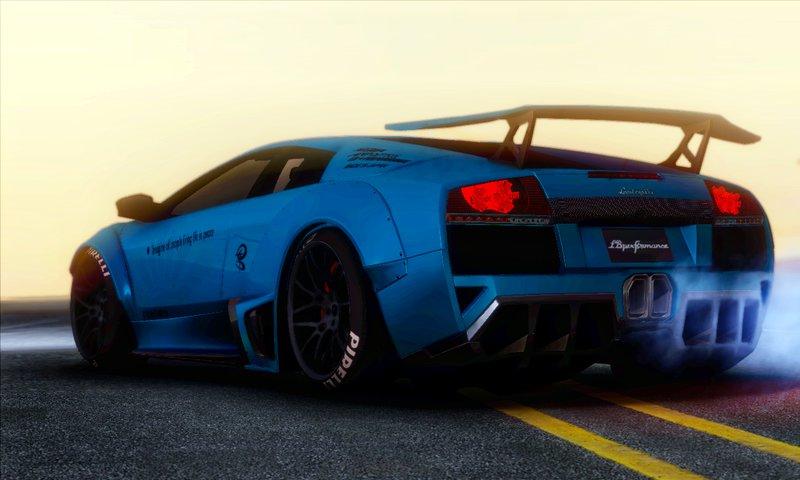 Gta San Andreas Lamborghini Murcielago Lp670 4 Sv Liberty Walk Lb