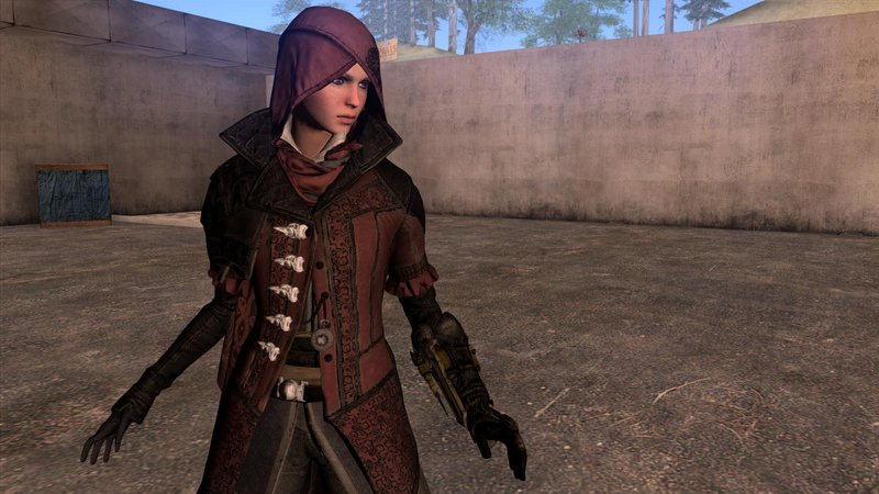 Gta San Andreas Ac Syndicate Evie Frye Normal Map Mod