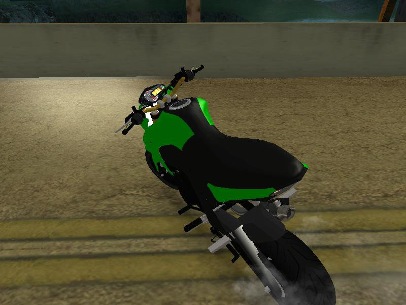 GTA San Andreas Kawasaki Z125 Pro Mod - GTAinside com