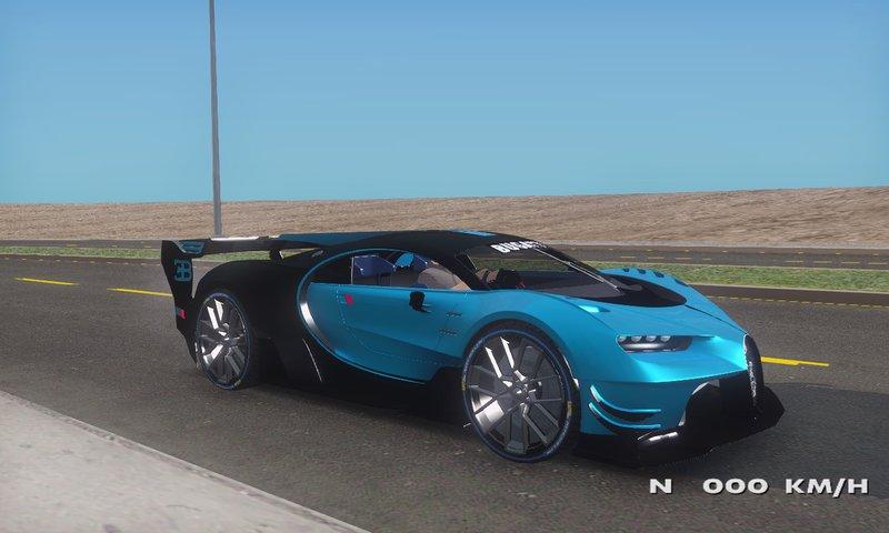 GTA San Andreas Bugatti Vision GT Mod - GTAinside.com  Gt Vision Bugatti on 2017 kia gt, 2017 nissan gt, 2017 shelby mustang gt, 2017 ford gt, 2017 bentley gt,