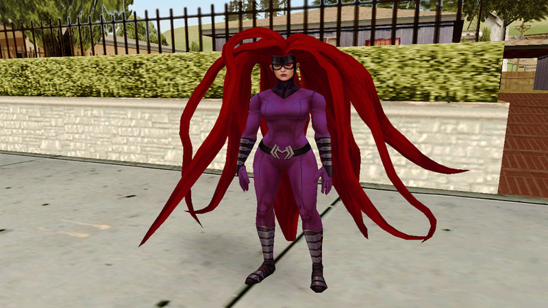 GTA San Andreas Marvel Future Fight - Medusa Mod - GTAinside com