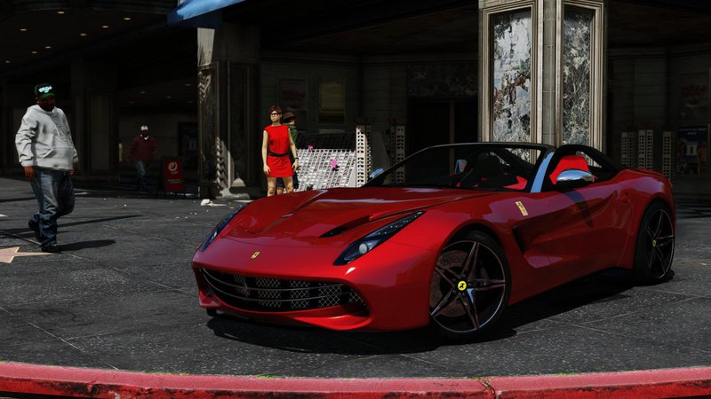 Gta 5 Ferrari F60 America Add On Hq Template Mod Gtainside
