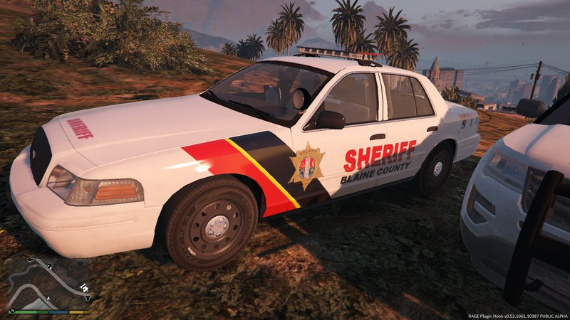 Ford Crown Victoria 2017 >> GTA 5 Blaine County Sheriff - Based on Broome County New Style Mod - GTAinside.com