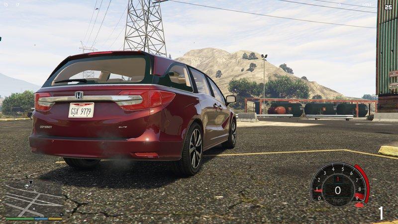 GTA 5 2018 Honda Odyssey Elite [Replace] Mod - GTAinside.com