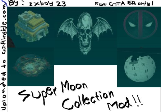 Super Moon Collection Mod