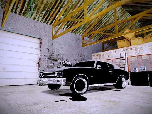 1970 Chevrolet Chevelle SS Drag Racing Tuned