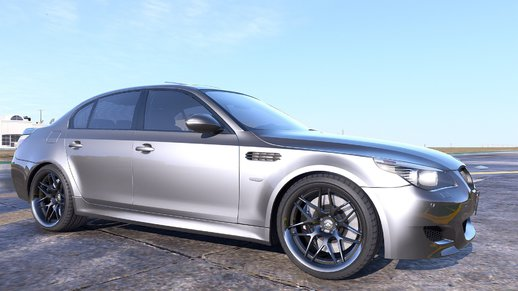 BMW M5 E60 [Add-On / Replace | Animated | Template]