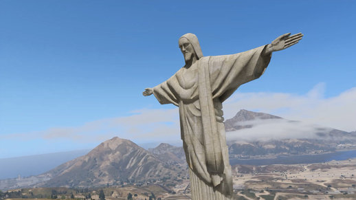 Jesus Christ Statue [Emissive Add-On Replace]
