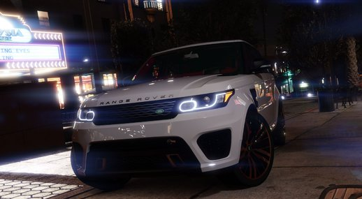 Range Rover Sport SVR 2016 [Add-On]