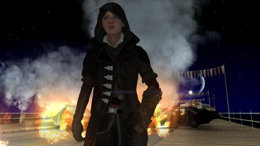 AC:Syndicate Evie Frye [Normal Map]