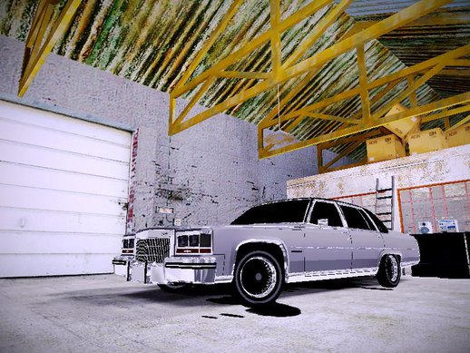 1980 Cadillac Fleetwood Brougham Low Rider