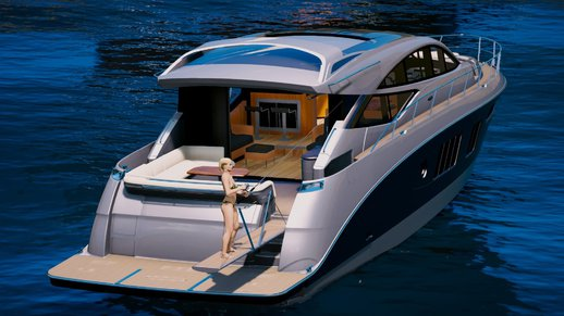 Sea Ray 650 Express [Add-on / Replace]