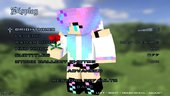 Minecraft Menu Girls ESC