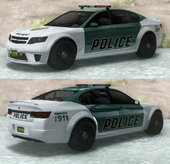 GTA V Cheval Fugitive Police