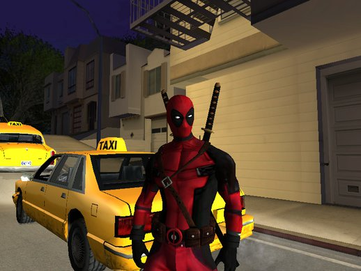 Deadpool From Movie *RESKIN*