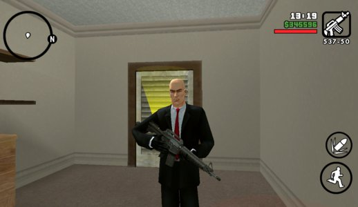 Hitman Skin For Android