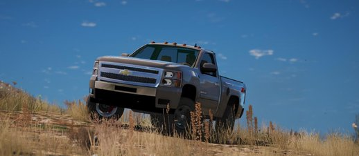 Chevrolet Silverado 1500 LTZ Regular Cab 4x4 2013 [Add-On / Replace | 7 Extras]