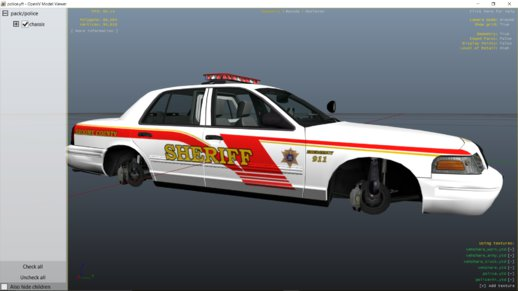 Broome County Sheriff CVPI (old Style)