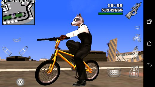 GTA V BMX dff only no txd For Android