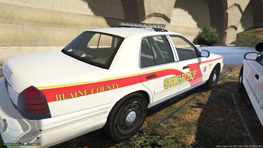 Blaine County Sheriff CVPI Skin Based on Broome County