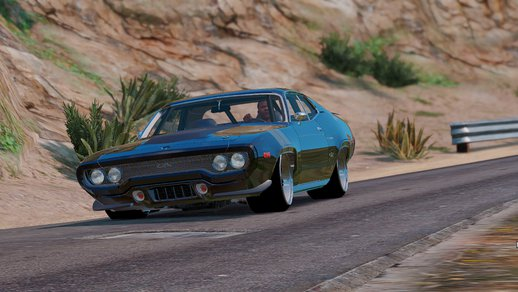 The Fate of the Furious Plymouth GTX