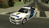 BMW M5 Hungary Police Car