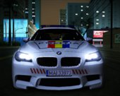 BMW F10 M5 Packet - Politia Romana