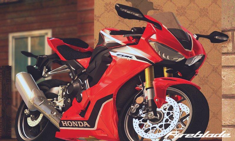 GTA San Andreas 2017 Honda CBR1000RR Mod - GTAinside com