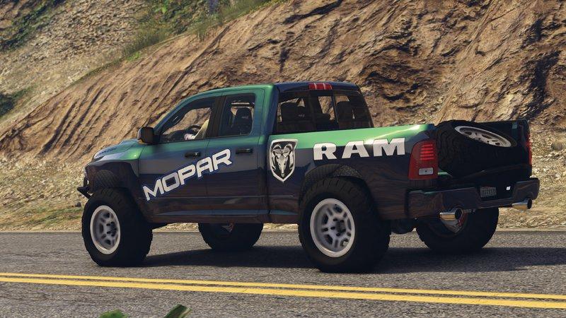 Dodge Ram Runner >> Gta 5 Dodge Ram Runner Fh3 Mod Gtainside Com