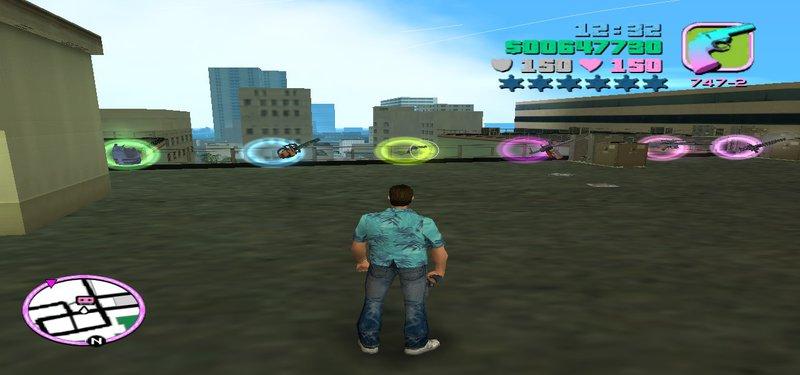 gta vice city the driver mission cheat