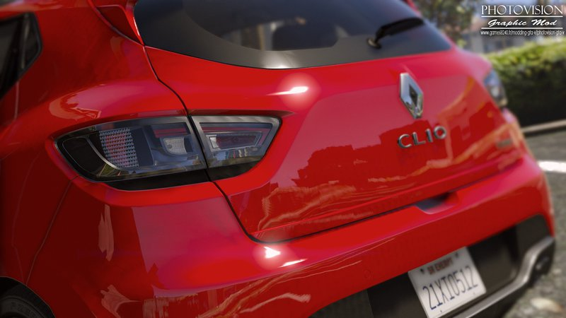 GTA 5 Renault Clio IV RS 2013 [Add-On / Replace | Tuning | Template ...