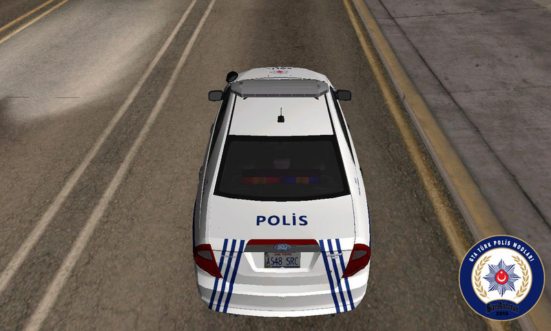 gta san andreas ford fusion 2011 turkish police car mod. Black Bedroom Furniture Sets. Home Design Ideas