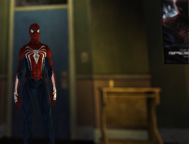 GTA 4 Spider-Man PS4 Skin Mod - GTAinside com