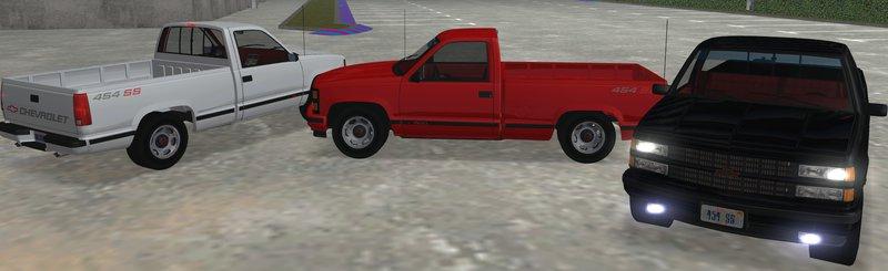 GTA San Andreas 1990 Chevrolet 454SS C1500 Mod - GTAinside com