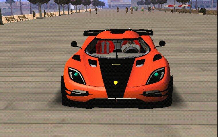 GTA San Andreas Agera Koenigsegg Rivals R Dff Only Mod - GTAinside com