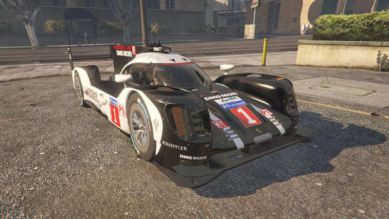 Gta 5 Porsche 919 Hybrid Add On Mod