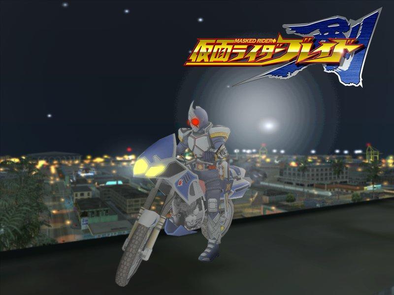 GTA San Andreas Kamen Rider Blade All Form Mod - GTAinside.com