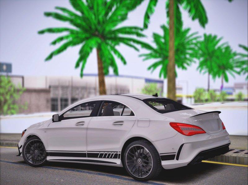 GTA San Andreas Mercedes Benz CLA 45 AMG 2017 Mod - GTAinside.com