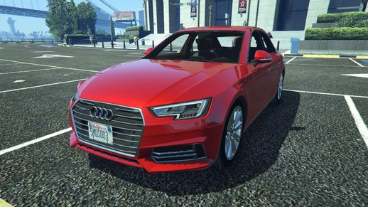 Audi A4 TFSI Quattro 2017 [Add-On / Replace]